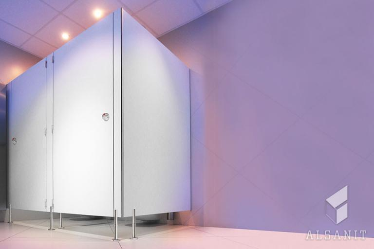kabiny toaletowe HPL